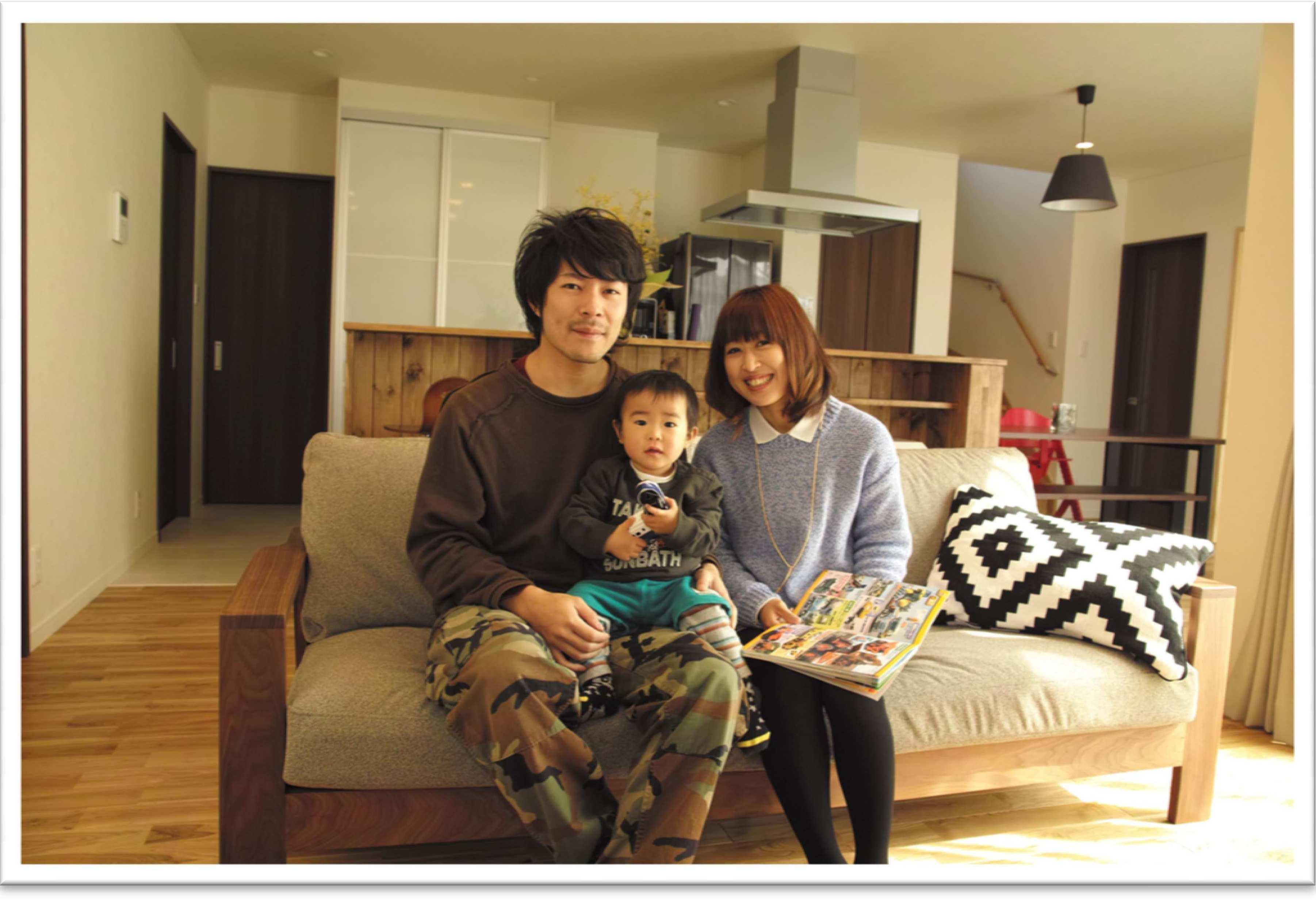 蓄熱暖房は家全体が暖かく快適で、来てくれる友人にも好評です。