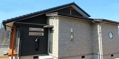 井上建設 モデルハウス