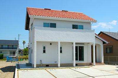 皆戸中建築 モデルハウス