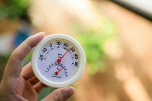 温度と湿度の関係