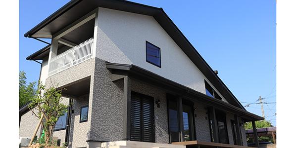 木造2階建てWB工法二世帯住宅