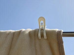花粉症対策 洗濯物
