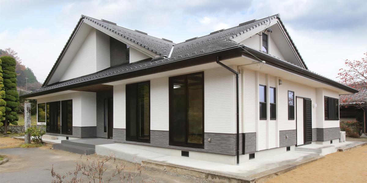 蓄電池を搭載した未来を見据える平屋住宅